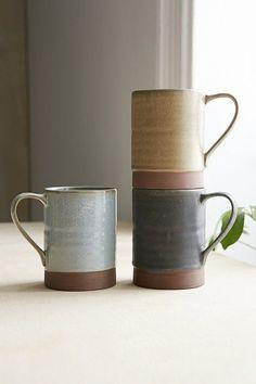 Mugs | Ceramics & Pottery exposed clay at the bottom of mug