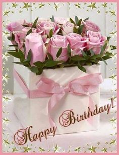 Happy Birthday Janet have a great day enjoy xxxMarie