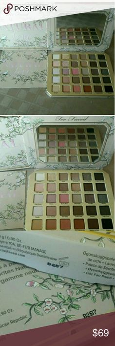 New Too Faced Natural Love Palette Too Faced Natural Love Palette  New   Too Faced  Natural Love Palette   In box NEVER USED Too Faced Makeup Eyeshadow