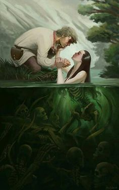 I have drawn similar to this picture, in my drawing, the girl was a mermaid and princess ~xeranzaa
