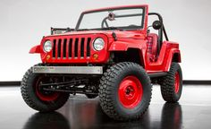 2016 Jeep Shortcut Concept. A Retro Revision, Based on the CJ-5