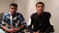 Diggy Simmons and Trevor Jackson talk 'My Girl' and Bud Billiken parade in Chicago