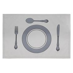 Romantic Setting Placemat in Gray / Torres & Tagus Placemat Sets, Joss And Main, Signature Style, Beautiful Homes, Romantic, Contemporary, My Favorite Things, Classic, Fun