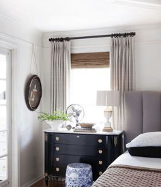 Caitlin Has A Secret Trend Spotting Hack And Here's What's Coming Up Next - BOLD ANTIQUE REVIVAL - Emily Henderson #designtrends #interiors #homedesign Highland Homes, Decorating Small Spaces, Dresser As Nightstand, Home Bedroom, Bedrooms, Wood Construction, Marble Top, Regency, Design Trends