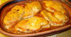 Fick detta recept av en vän, testade det och jag blev supernöjd, kan man lugnt säga. French Toast, Turkey, Food And Drink, Meat, Chicken, Cooking, Breakfast, Prom Dresses, Fantasy