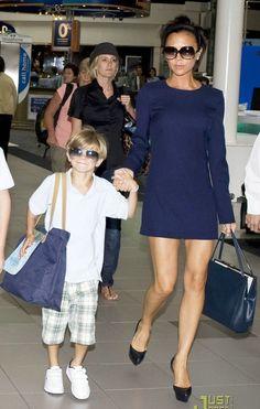 Victoria Beckham Blue Dress