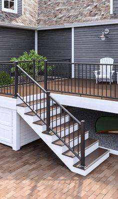 Best Deckorators Heritage Barrel Aged Oak Porch Composite 400 x 300