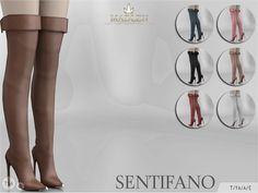 Sims 4 CC's - The Best: Madlen Sentifano Boots by MJ95