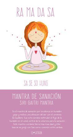 sanación con el siri gaitri mantra - Lusatnam. Ilustración para el alma
