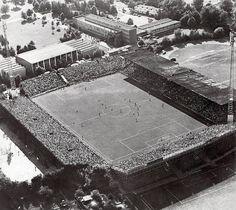 Alm Stadion, Bielefeld, in 1978
