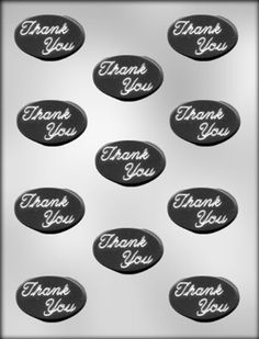 CK Products Oval Thank You Mint Choc Mold *** Don't get left behind, see this great product offer  : Baking essentials