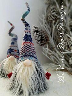 Decoración nórdica Gnome sueco Tomte Navidad SANTA Sockerbit