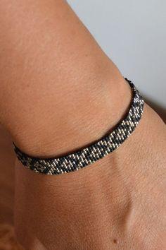 ZOUX050 Bracelet tissé main en perles Miyuki Delicas 15/0