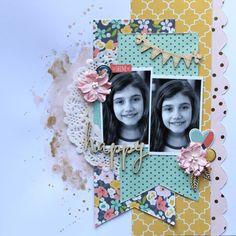 All About Scrapbooks Australia: Happy with Simple Stories Posh by Fiona Johnstone