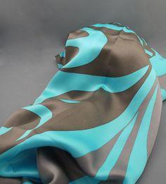 "The MOA Shop: ""Whale & Thunderbird Scarf"" by Coast Salish artist Maynard Johnny Jr."