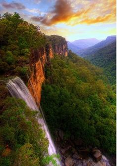 Fitzroy Falls, Morton National Park, Australia