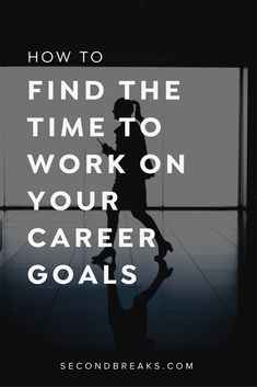 Finding time to work on your dream career | starting a business on the side