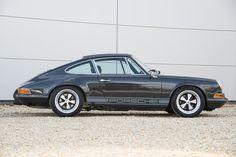 Slate grey Rennsport Evolution - similar new builds available from Porsche Classic, Classic Cars, Car Expo, Blueprint Engines, Vintage Porsche, Vintage Cars, Porsche 912, Cars Series, Exotic Sports Cars