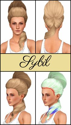 Mod The Sims - Disentangled Part 2 - 26 De-Accessorized, Retextured, & Fixed…