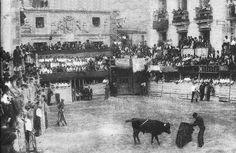 1932 Toros en la Plaza de Sepúlveda