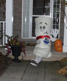 """I'm just a bill...""   25 funny halloween costumes (most of which aren't funny, albeit they are creative). I love the bill costume! School house rock was awesome!"
