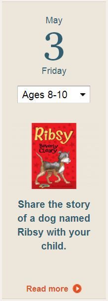 """Use Beverly Cleary's book """"Ribsy"""" to talk with your kids aged 8-10 about safety. Learn more in today's Parents tip."""