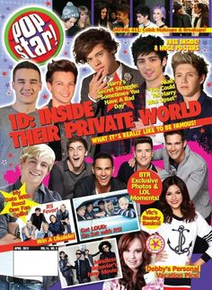 Popstar, BTR in there..