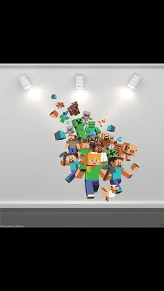 Minecraft Xbox Game Full Colour Wall Art by WallSmartDesigns, £15.99