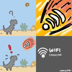 Funny Wi-Fi killed the dinosaurs =))))))) The Effective Pictures We Offer You About Memes para contestar A quality picture can tell you many things. Crazy Funny Memes, Really Funny Memes, Stupid Funny Memes, Funny Relatable Memes, Haha Funny, Hilarious, Fun Funny, Memes Estúpidos, Best Memes