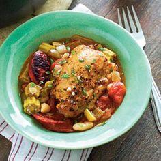 24 Chicken Casserole Recipes: Cajun Chicken Cassoulet
