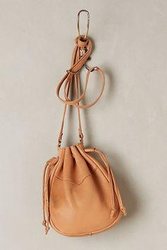 Au Lait Drawstring Bag #anthropologie