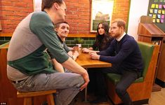 The cafe offers work to those without their own accommodation as part of efforts to end th... #meghanmarkle #princeharry #royals