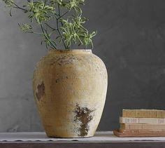 Camilla Yellow Vase | Pottery Barn