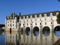The Château de Chenonceau is a manor house near the small village of Chenonceaux, France, in the Loire Valley in France. It was built on the site of an old mill on the River Cher in the 11th Century.