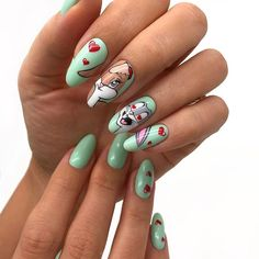 Nail Art Designs, Valentines Day, Nice, Beauty, Valentine's Day Diy, Valentines, Nail Designs, Nice France, Nail Art