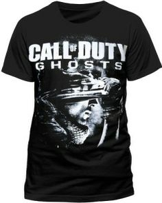 CALL OF DUTY Ghosts Men's Soldier Crew Neck Short Sleeve T-Shirt available in the UK at http://www.call-of-duty-products-worldwide.com/shopUK/call-of-duty-ghosts-mens-soldier-crew-neck-short-sleeve-t-shirt/
