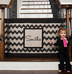Chevron Fabric Safety Gate FINAL