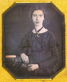 1830 – Emily Dickinson, American poet (d. 1886)   Emily Dickinson