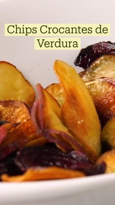 Savory Snacks, Healthy Snacks, Healthy Recipes, Vegan Foods, I Foods, Vegetable Chips, Yummy Food, Tasty, Roasted Vegetables
