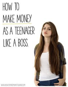 A delightfully excellent list of jobs for 13 year olds for How to get money easily as a kid