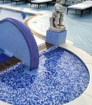 Mosaic tile for a pool. MURANO SMALTO COLLECTION by SICIS