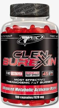 Trec Nutrition Clenburexin II 90 caps -- XTREME FATBURNER with Green Tea / Cayenne Pepper / Caffeine - http://vitamins-minerals-supplements.co.uk/product/trec-nutrition-clenburexin-ii-90-caps-xtreme-fatburner-with-green-tea-cayenne-pepper-caffeine/