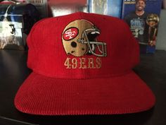327164e2457 Vintage San Francisco 49ers Corduroy Snapback. Sports Specialties Script  Rice from  59.0