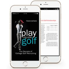 Successfully Achieve Your Goal Of Playing College Golf. www.digitalbookshops.com #Sport  #Golf