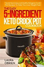These 20 Crock Pot keto recipes make life on a low carb, high fat way of eating just a little easier. Fix it and forget it with slow cooker keto recipes!