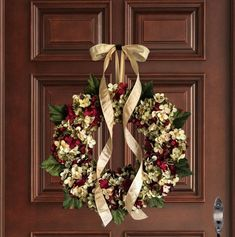Wreaths Hydrangea wreath mixed by hand Front Door Wreaths Artificial Hydrangea Flowers, Red Hydrangea, Hydrangea Wreath, Hydrangeas, Christmas Wreaths For Front Door, Holiday Wreaths, Outdoor Wreaths, Year Round Wreath, Summer Wreath