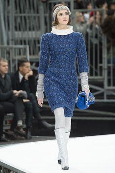 Chanel Fall 2017 Ready-To-Wear: Look 28. Model: Cris Herrmann