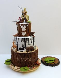 Sportsmans Cake Cakes Pinterest Cake Amazing cakes and