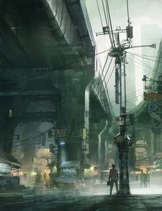 Theo Prins Environment Concept Art