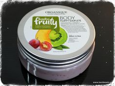 Organique,suflet do ciała ,kiwi, mango,czerwone winogrona
